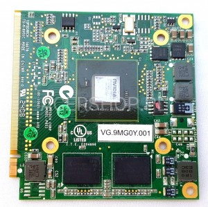 Acer VG.9MG0Y.001  - karta grafiki MXM2 GeForce 9300 256MB do Extensa 5630G, 7630G